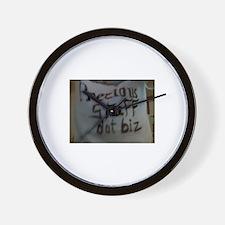 PreciousStuffDotBiz Design Wall Clock