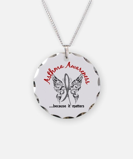 Asthma Butterfly 6.1 Necklace