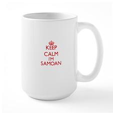 Keep Calm I'm Samoan Mugs