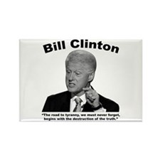 Clinton: Tyranny Rectangle Magnet (10 pack)