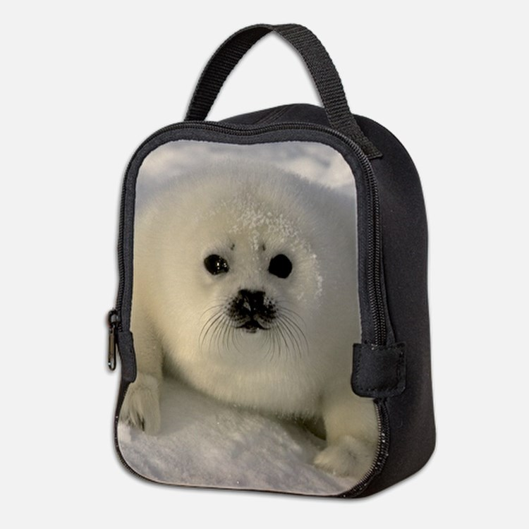 Baby Seal Neoprene Lunch Bag
