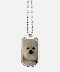 Baby Seal Dog Tags