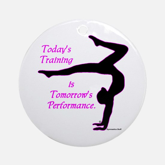 Gymnastics Keepsake - Training