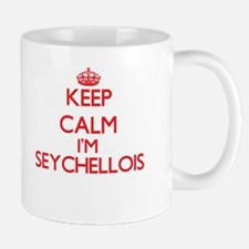 Keep Calm I'm Seychellois Mugs