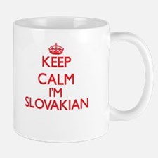 Keep Calm I'm Slovakian Mugs