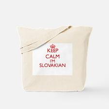 Keep Calm I'm Slovakian Tote Bag