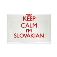 Keep Calm I'm Slovakian Magnets