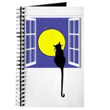 Cat and Moon Journal