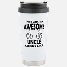 Cool Uncle to be Travel Mug