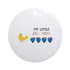 Little Jelly Bean Ornament (Round)