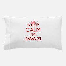 Keep Calm I'm Swazi Pillow Case