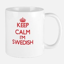 Keep Calm I'm Swedish Mugs