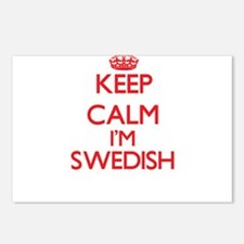 Keep Calm I'm Swedish Postcards (Package of 8)