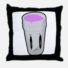 Purple, codeine Throw Pillow