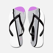 Purple, codeine Flip Flops
