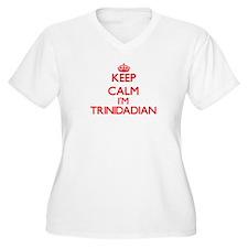 Keep Calm I'm Trinidadian Plus Size T-Shirt