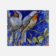 Songbirds Throw Blanket