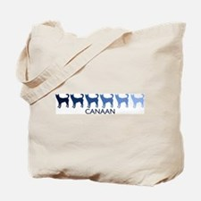 Canaan (blue color spectrum) Tote Bag