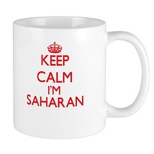 Keep Calm I'm Saharan Mugs