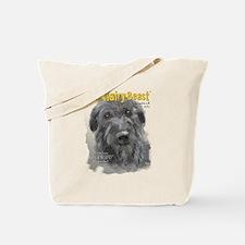Big Hairy Beast label Tote Bag