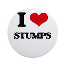 I love Stumps Ornament (Round)
