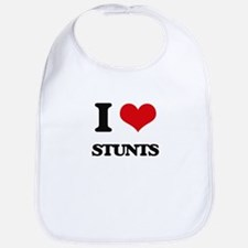 I love Stunts Bib