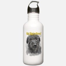 Big Hairy Beast label Water Bottle