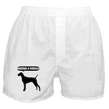 Rescue a Vizsla Boxer Shorts