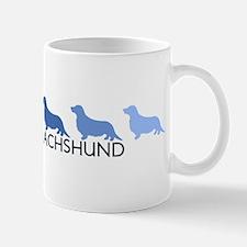Longhair Dachshund (blue colo Mug