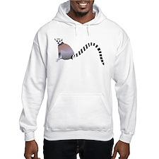 Cartoon Ring-Tail Lemur Hoodie