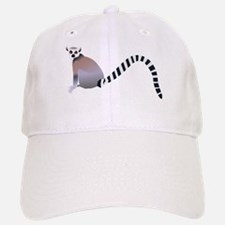 Cartoon Ring-Tail Lemur Baseball Baseball Cap