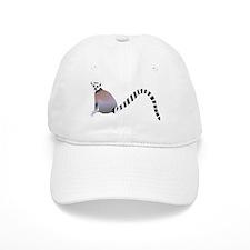 Cartoon Ring-Tail Lemur Baseball Cap