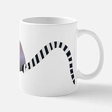 Cartoon Ring-Tail Lemur Mugs