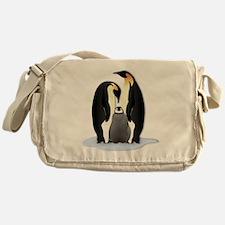 Penguin Family Messenger Bag