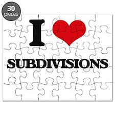 I love Subdivisions Puzzle