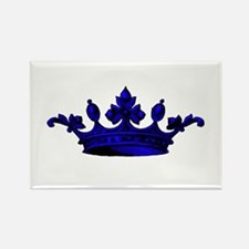 Crown Blue Black Magnets