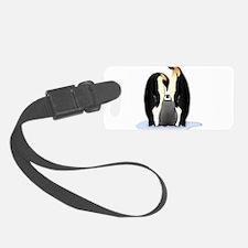 Penguin Family Luggage Tag