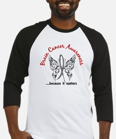 Brain Cancer Butterfly 6.1 Baseball Jersey