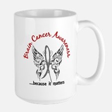 Brain Cancer Butterfly 6.1 Mug