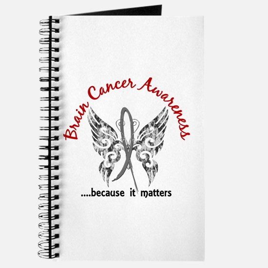 Brain Cancer Butterfly 6.1 Journal
