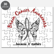 Brain Cancer Butterfly 6.1 Puzzle