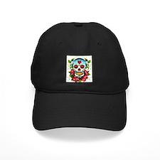 Day of the Dead Skull Baseball Hat