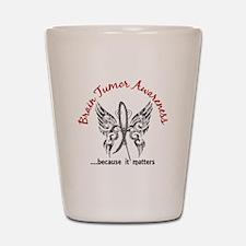 Brain Tumor Butterfly 6.1 Shot Glass