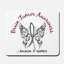 Brain Tumor Butterfly 6.1 Mousepad