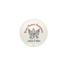 Brain Tumor Butterfly 6.1 Mini Button (10 pack)