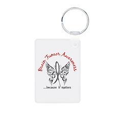 Brain Tumor Butterfly 6.1 Keychains