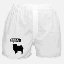 Rescue a Keeshound Boxer Shorts