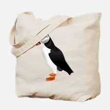 Little Puffin Tote Bag