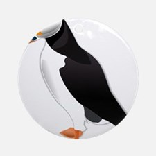 Little Puffin Ornament (Round)
