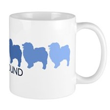 Keeshound (blue color spectru Mug